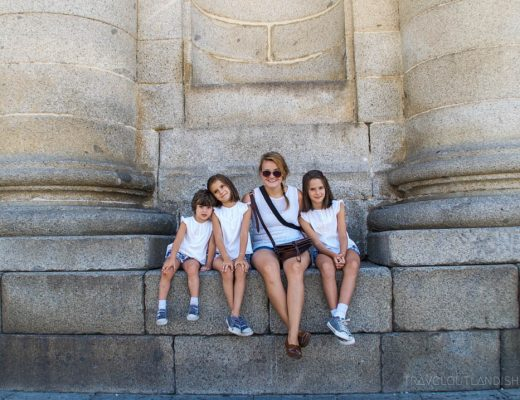 Au Pair Jobs in Europe - Taylor with Host Family Au Pairing in Spain