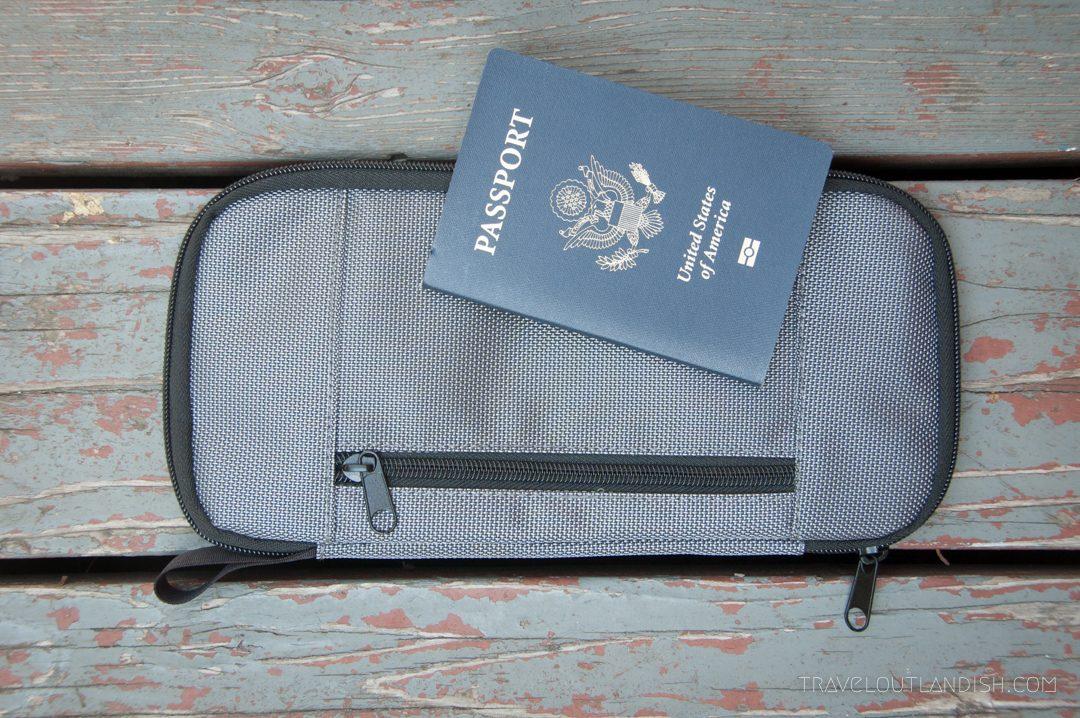 Round the World Trip Essentials - Passport Wallet