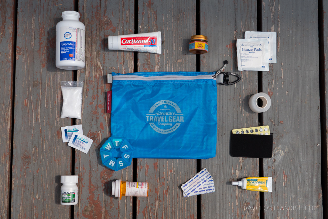 DIY First Aid Kit for Travel