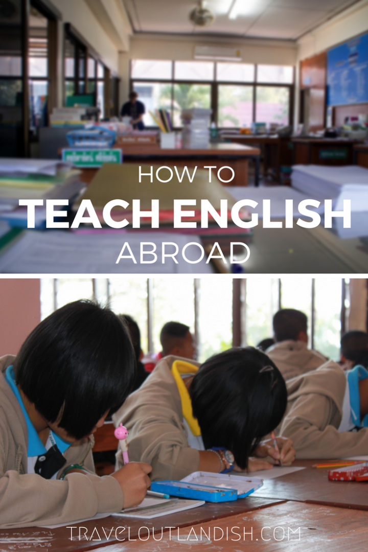 Have you ever wanted to teach English abroad? What to expect along with certifications, requirements, and job resources.