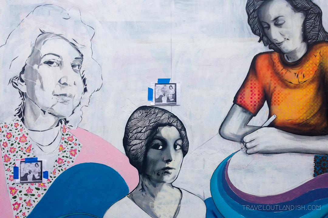 3 Women Mural in Clarion Alley
