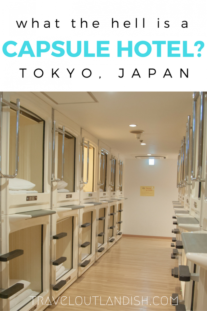 Combine the design of a 1950's fallout shelter with a laundromat and you'll have yourself a capsule hotel. Inside the tiniest of places to stay in Tokyo.