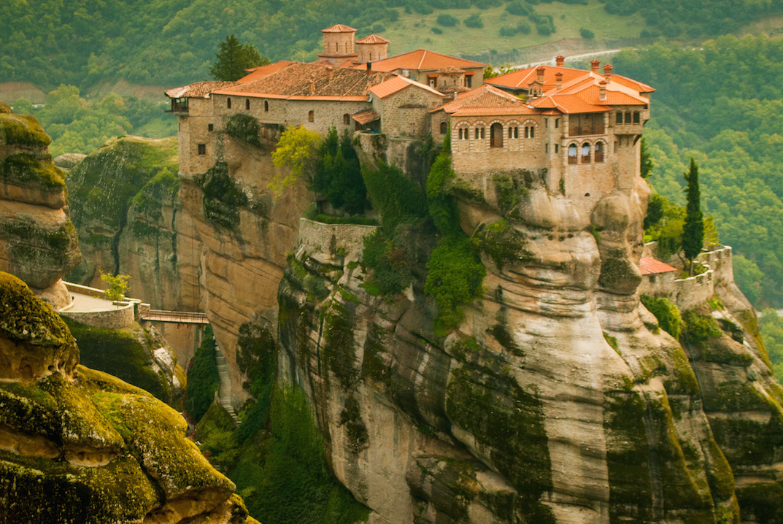 Clifftop Monastery in Meteora