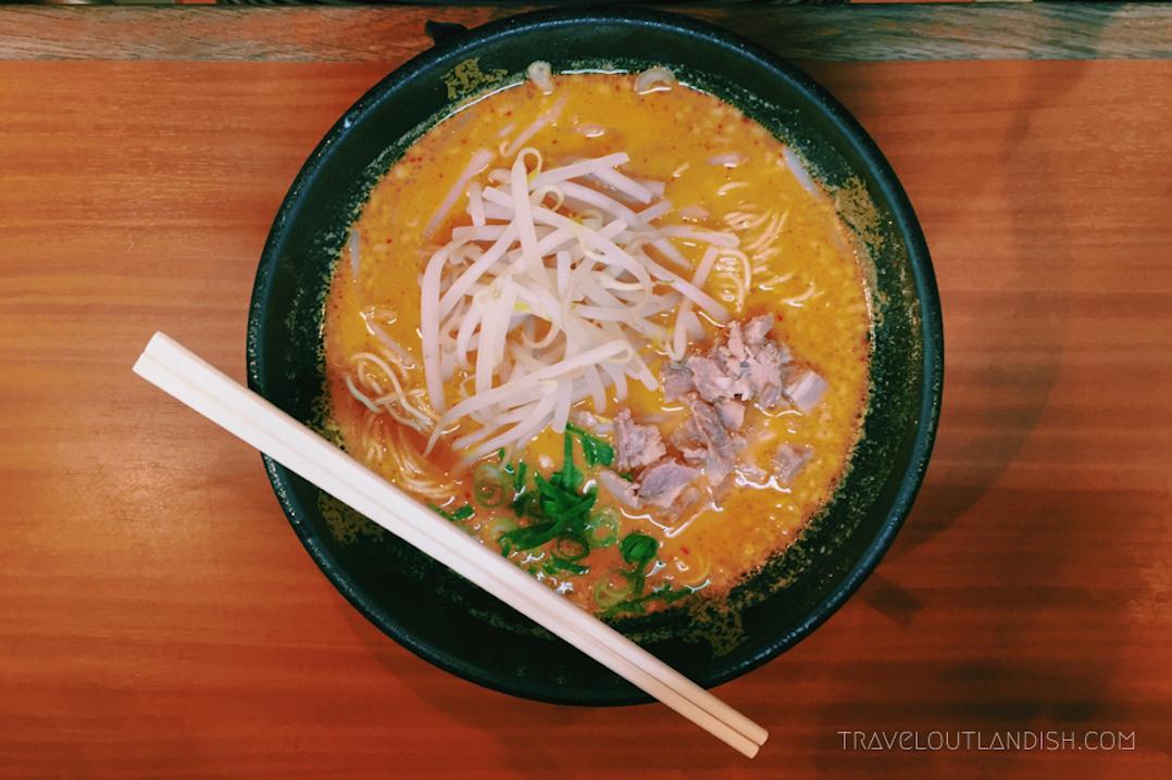 Must Eat in Tokyo - Miso-Based Ramen
