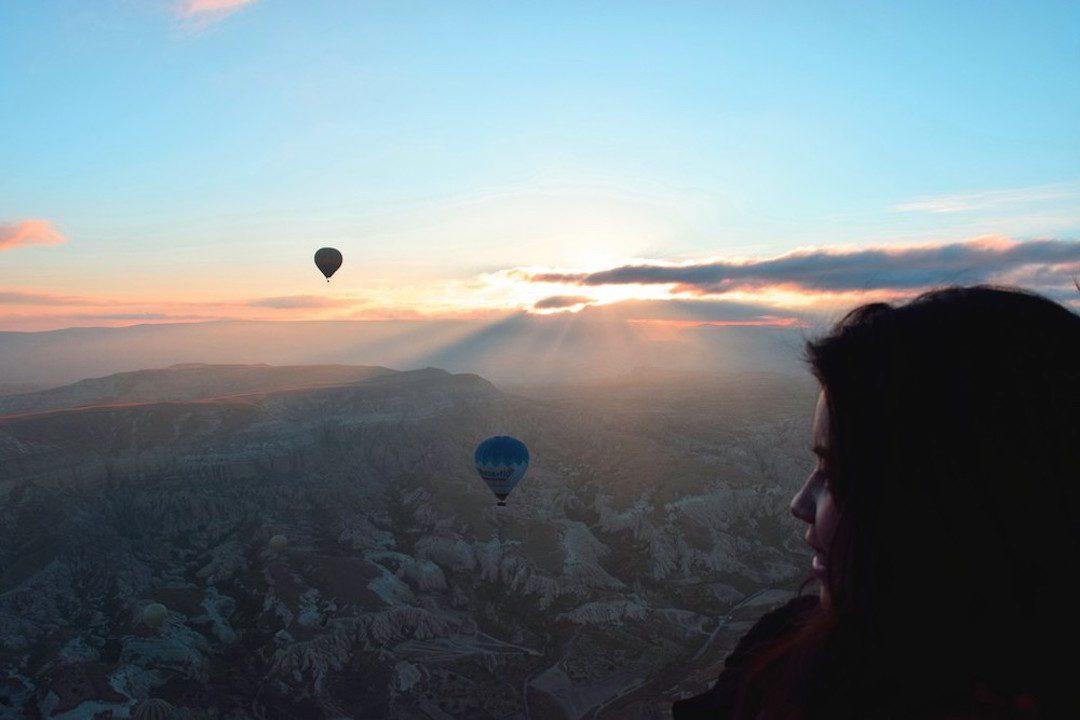 Cappadocia Fairy Chimneys at Sunset