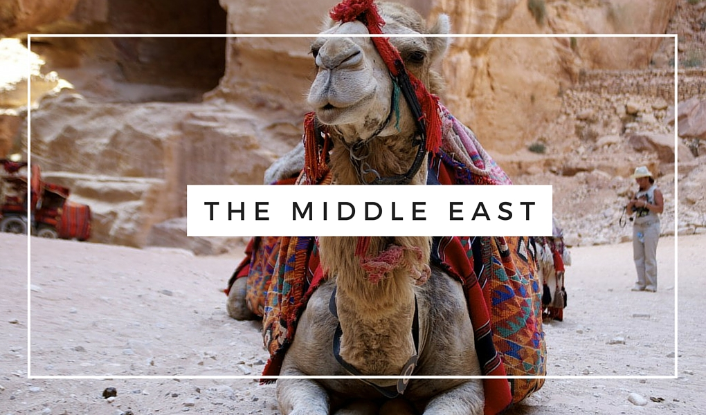 Destinations-The-Middle-East-Camel-in-Petra