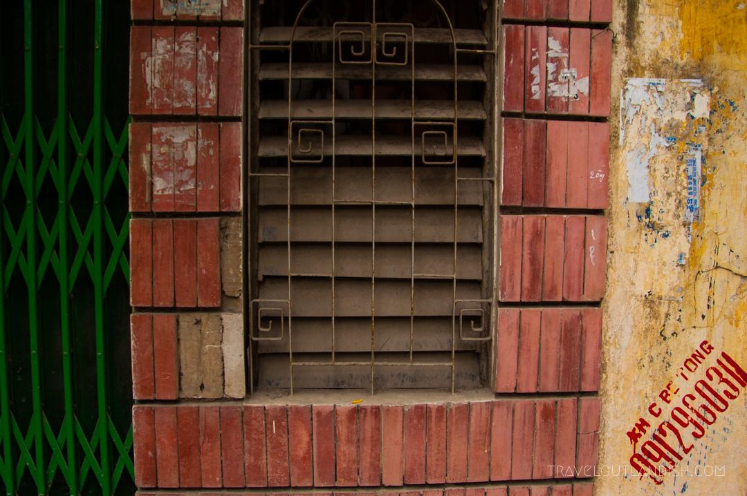 A Window on a Street Corner