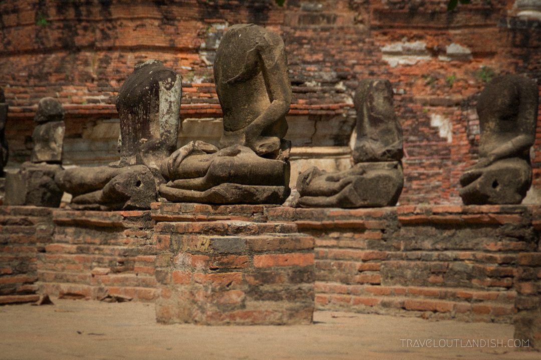 Headless Buddhas at Ayutthaya