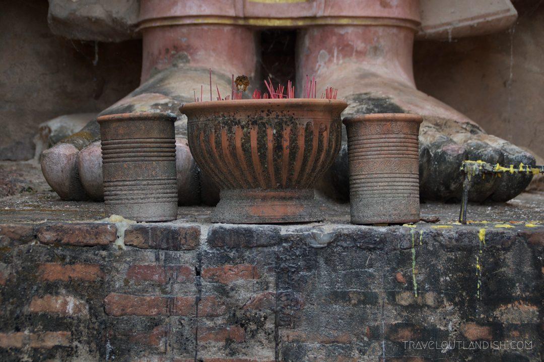 Buddha's Feet at Sukhothai