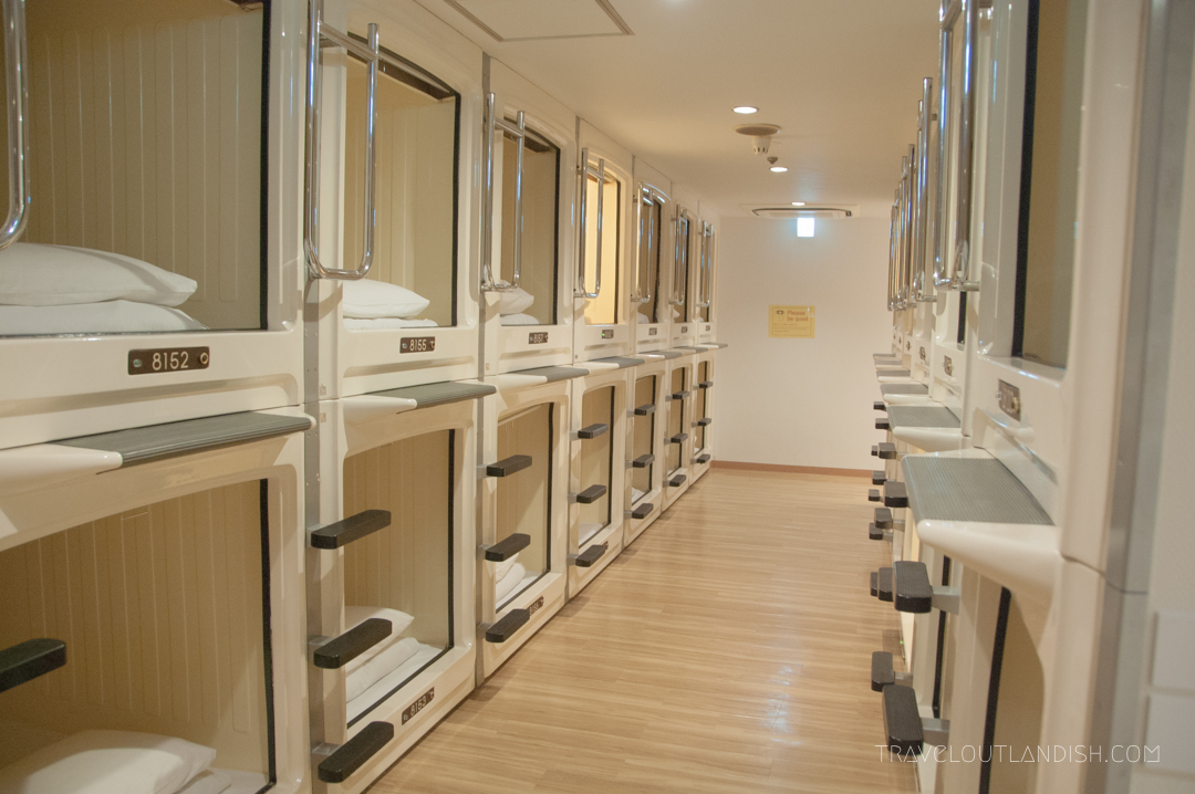 What The Hell Are Capsule Hotels Tokyo Japan