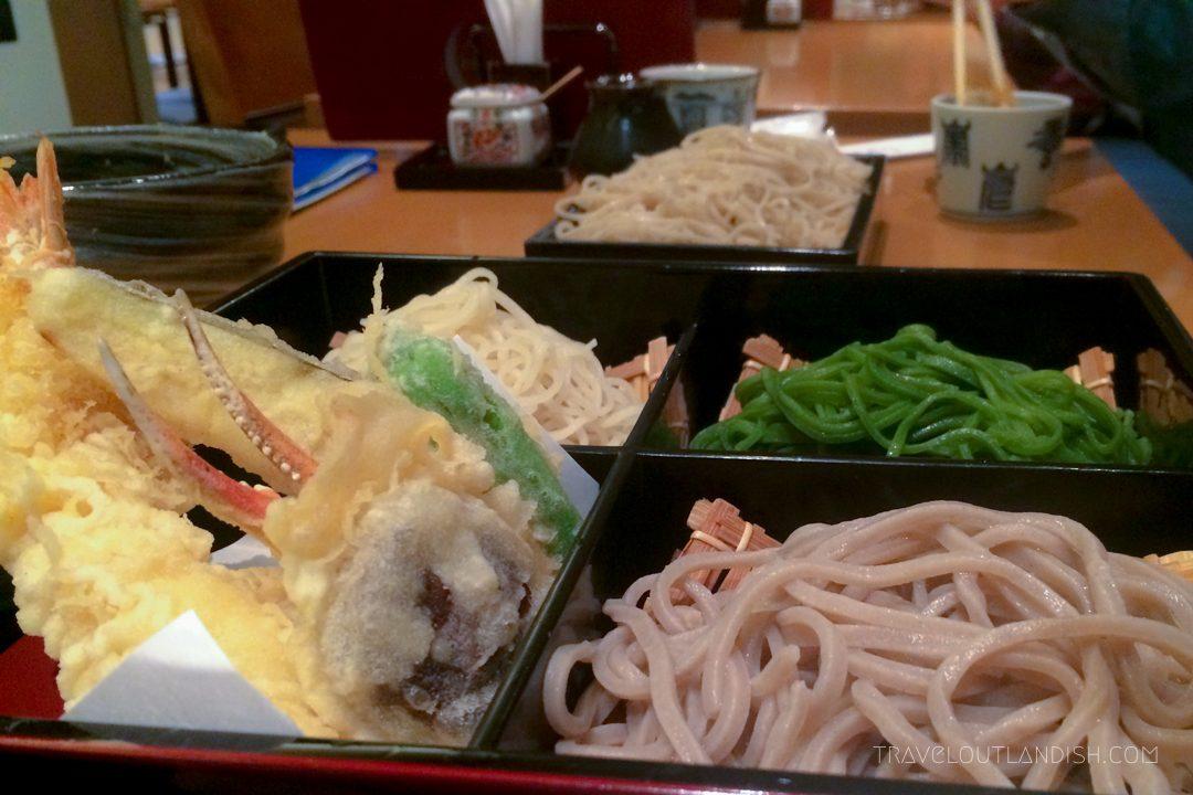 Must Eat in Tokyo - Soba + Tempura in Tokyo