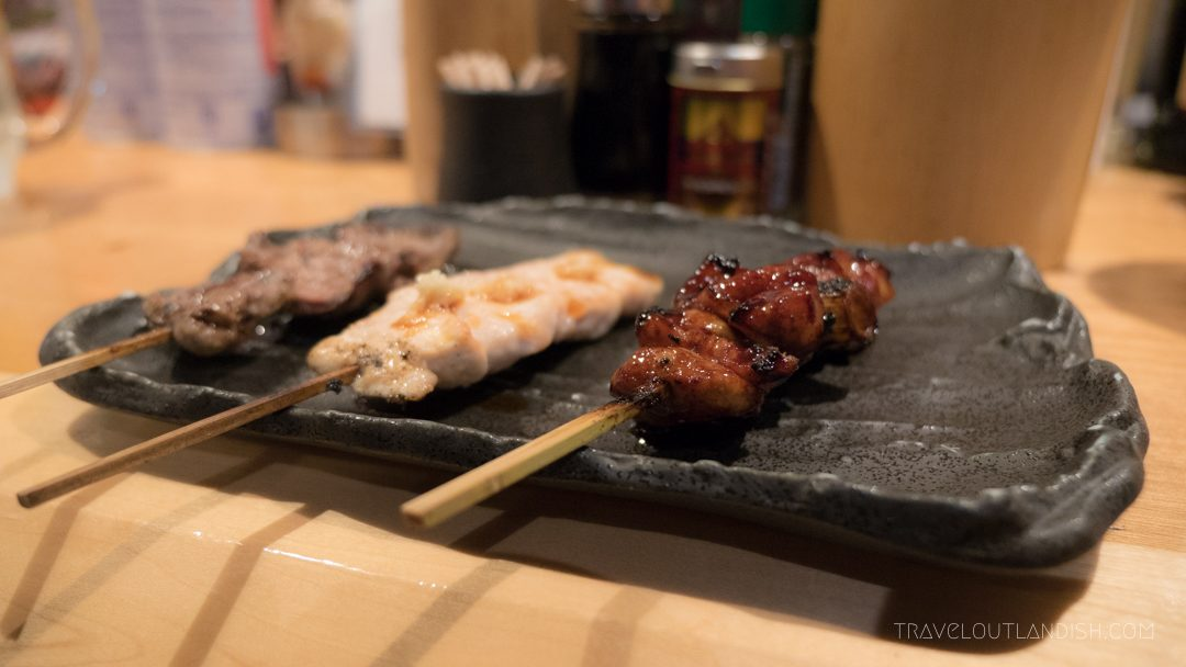 Must Eat in Tokyo - Skewers in a Yakitori Shop