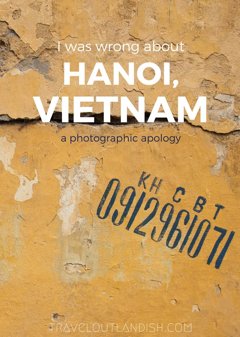 Hanoi, Vietnam. Hanoi-ing, I once heard it called. A photographic apology to one of the loveliest cities I've seen.