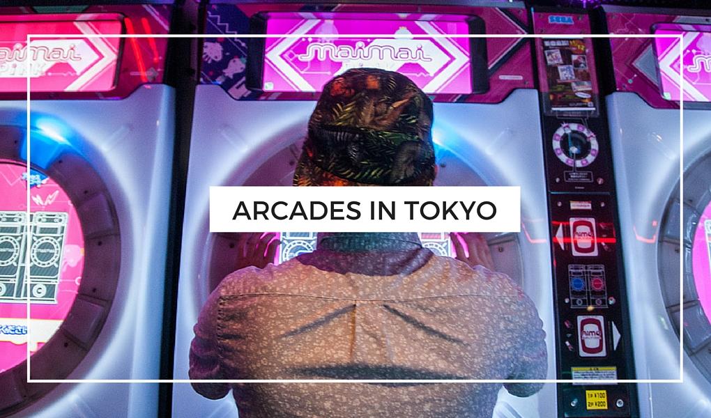 Everything Tokyo - Arcades in Tokyo