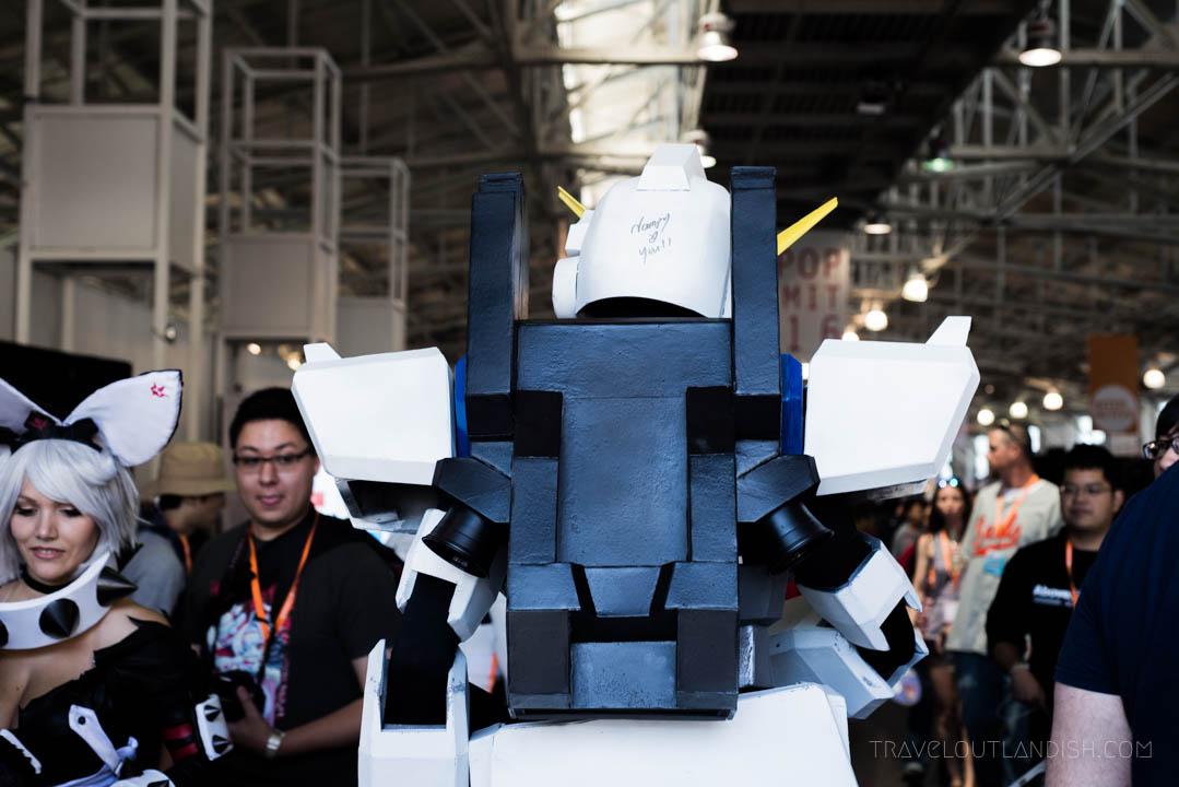 Transformer Costume at the J-POP Summit
