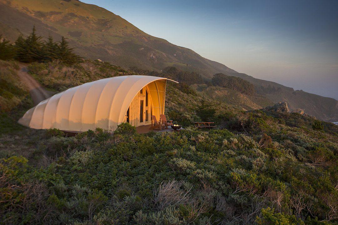 The Autonomous Tent at Treebones Resort