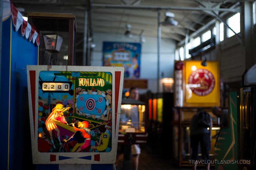 Unique Things to do in San Francisco: Gaming at Musée Mécanique