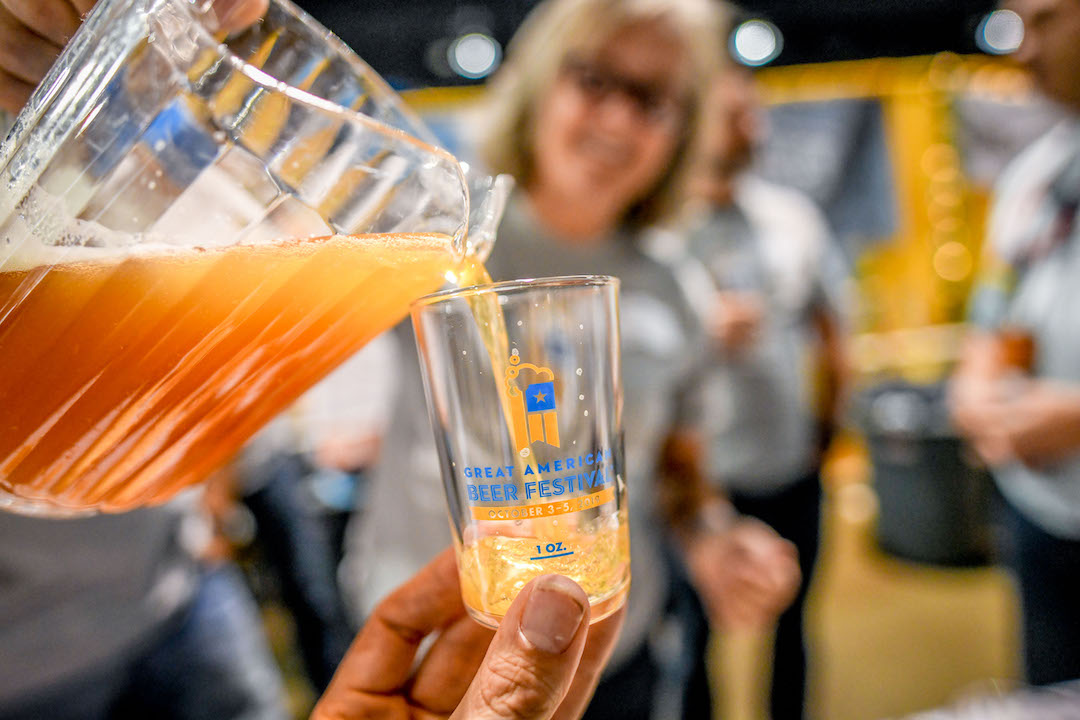 Pour at the Great American Beer Festival in Denver