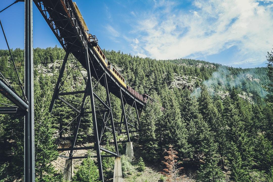 Train in Georgetown, Colorado