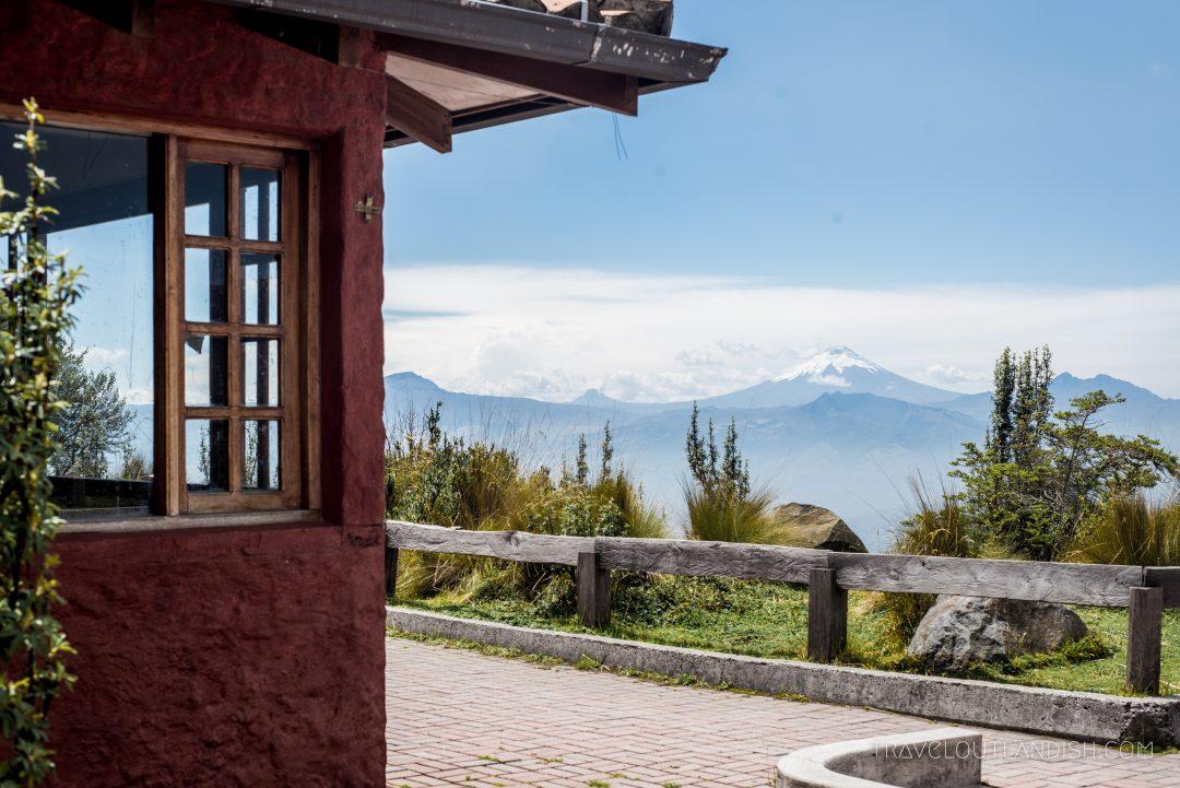 Top of the TeleferiQo in Quito