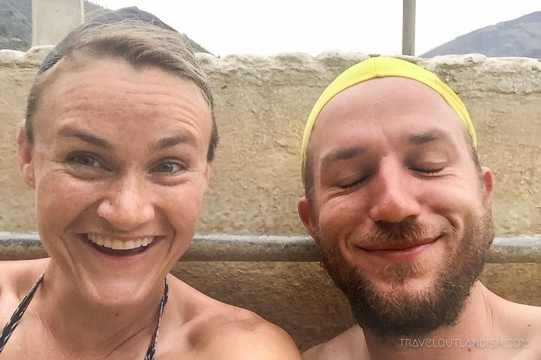 Daniel + Taylor at the Thermal Baths