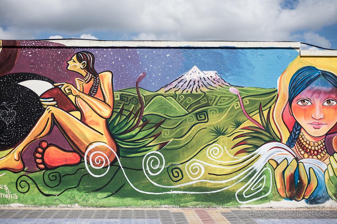 Graffiti in Ecuador - Otavalo Street Art