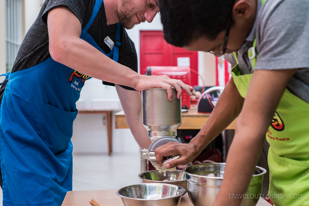Cooking Classes in Lima - Making Humitas