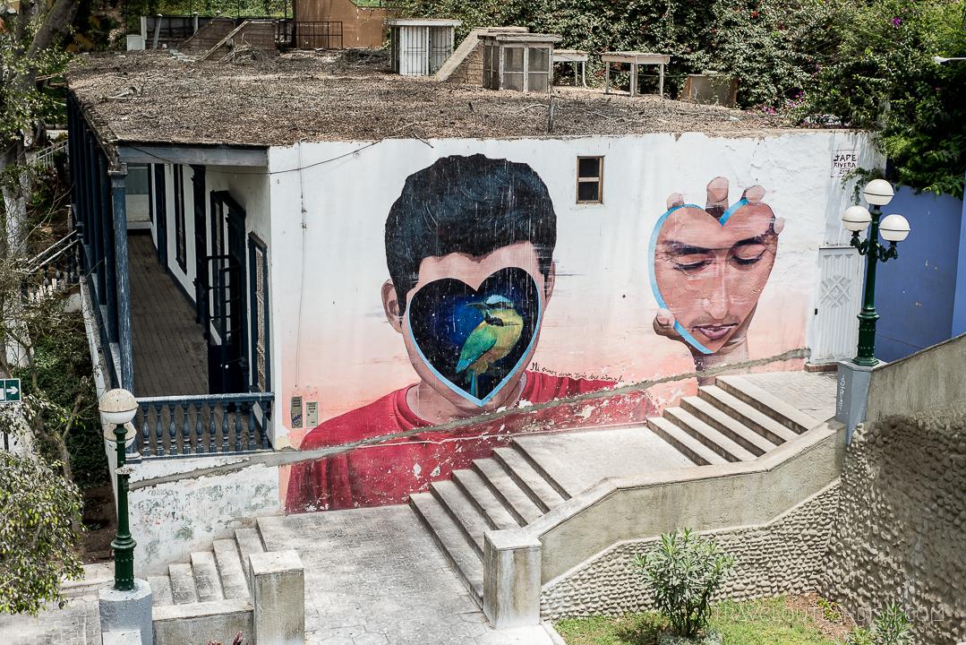 Street Art in Lima - Mural by Jade Rivera