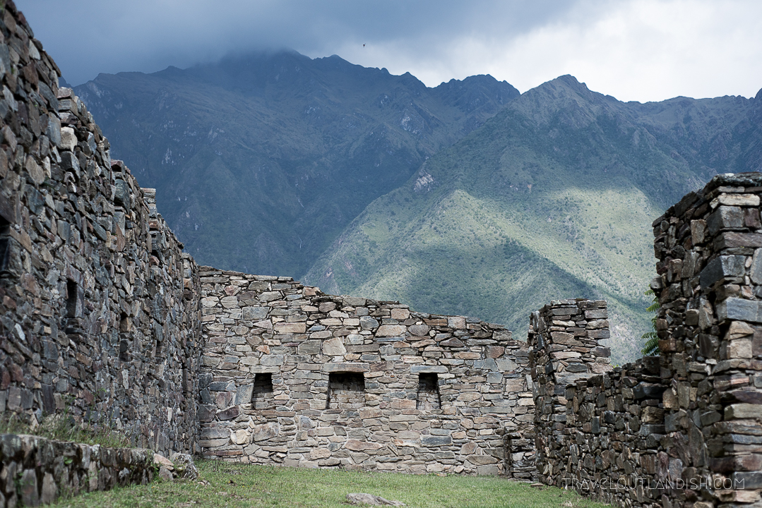 Choquequirao Ruins in Peru - Ruins at Choquequirao