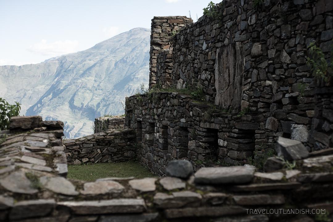 Choquequirao Ruins in Peru - Ruins at Choquequirao