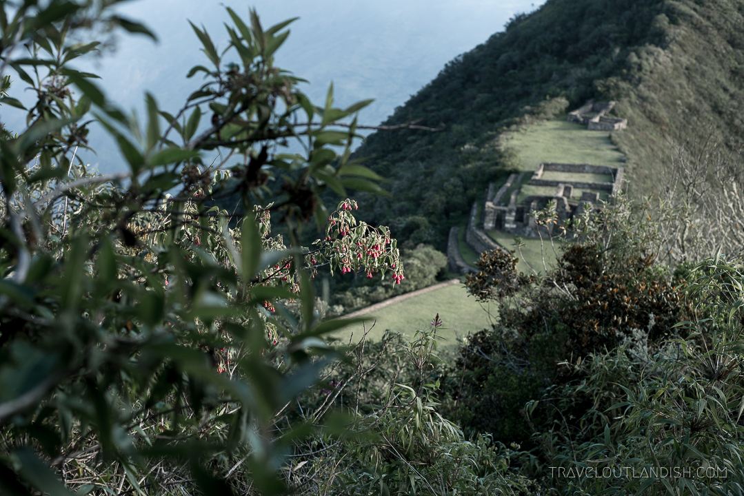 Choquequirao Ruins Peru - View of the Park