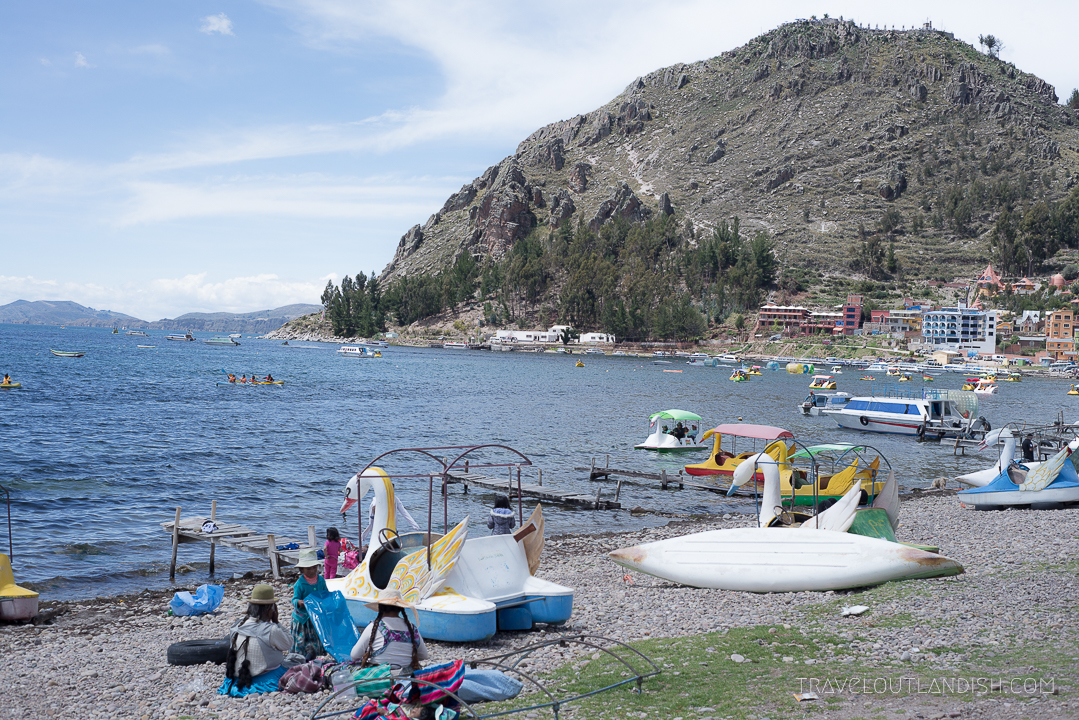 The Paddleboats on Lake Titicaca