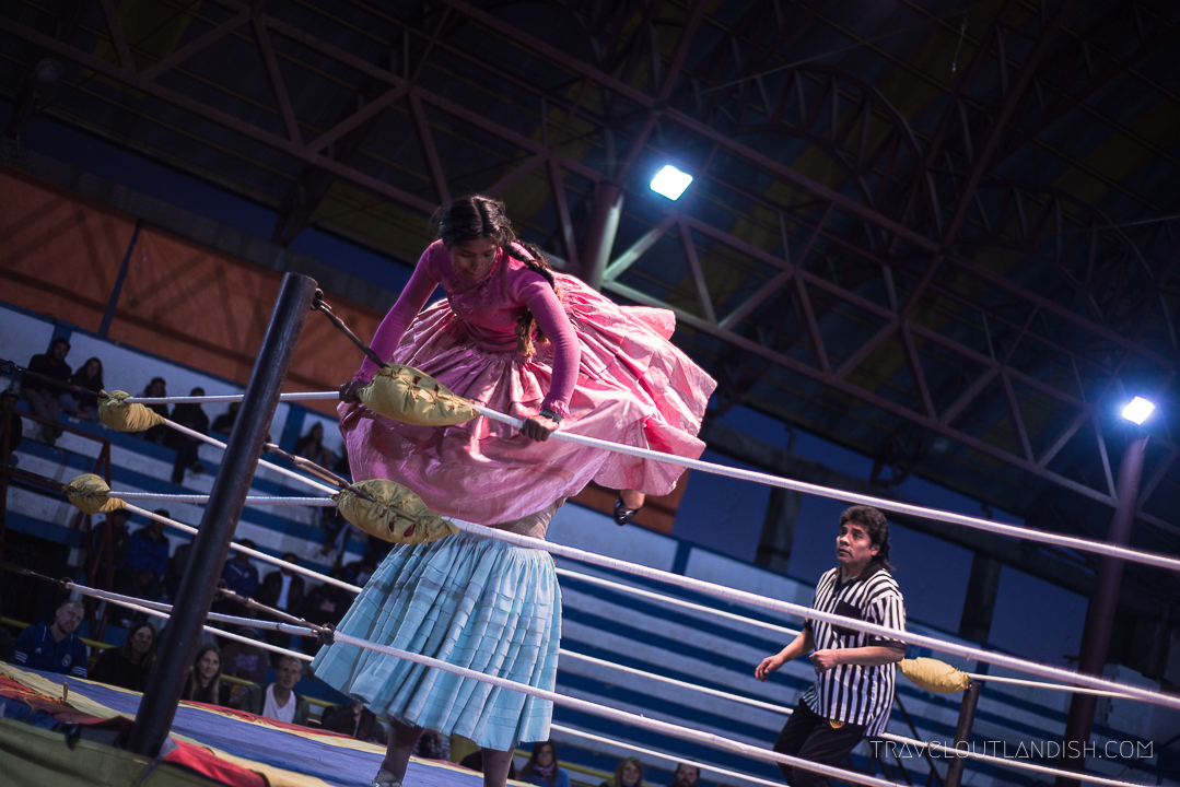 Cholitas Wrestling - Cholitas in the Ring
