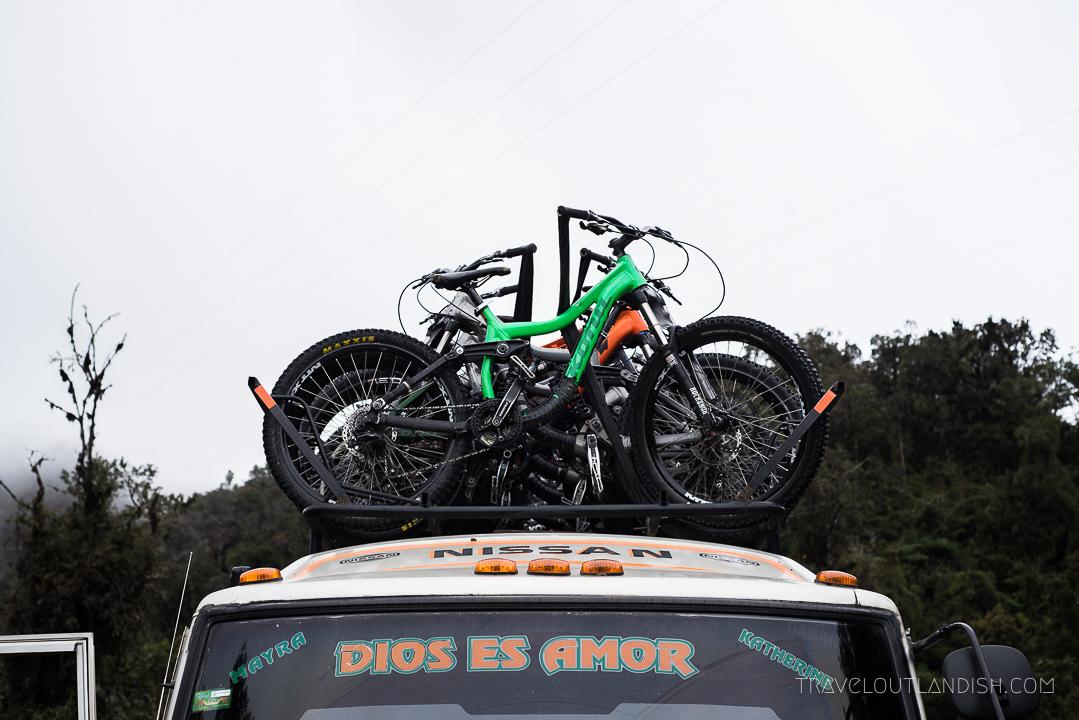 Death Road Bolivia - Vehicle Barracuda Biking