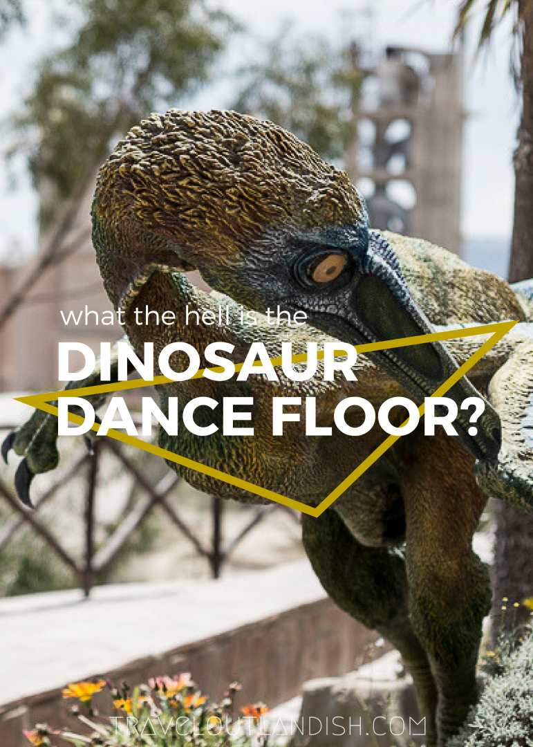 Looking for unique things to do in Bolivia? Head to the Dinosaur Dance Floor in Sucre - it's every bit as strange as you'd expect.
