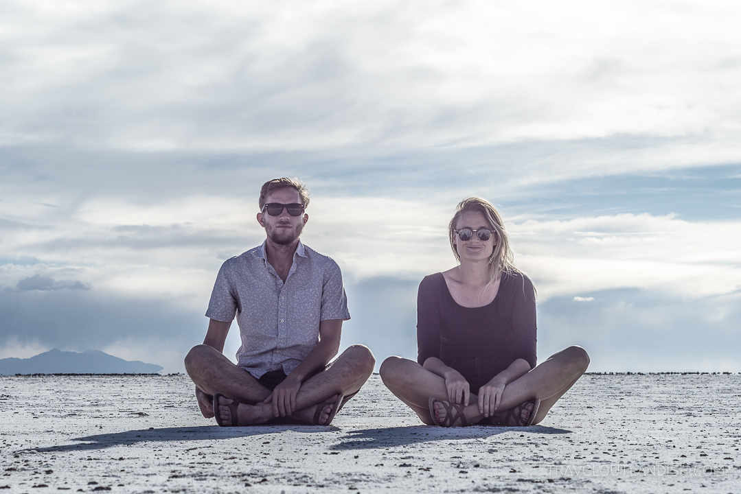 Sitting on the Salt Flats