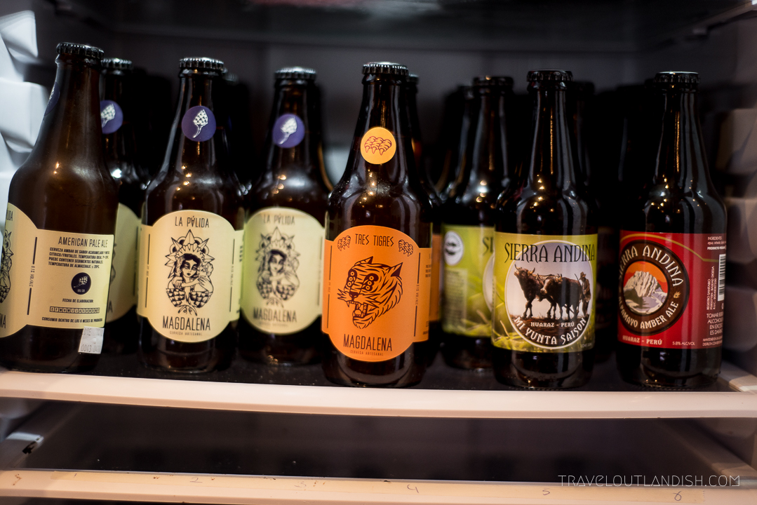 Peruvian Beer - La Palida