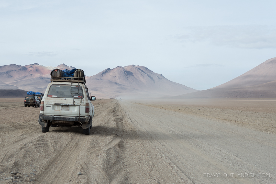 Salar de Uyuni Tours - Andes Salt Expeditions Vehicle