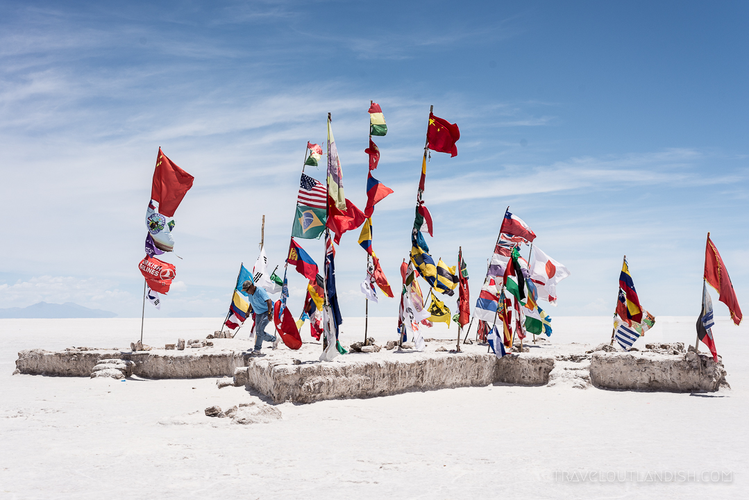 Salar de Uyuni Tours - International Flags