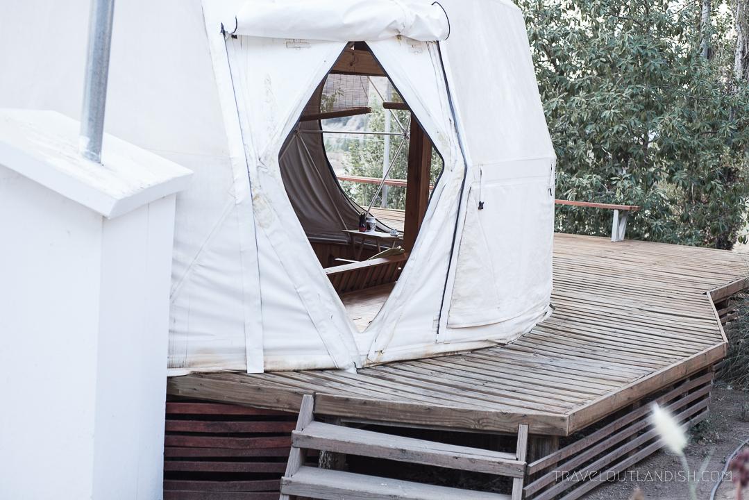 Elqui Domos - Dome Entrance