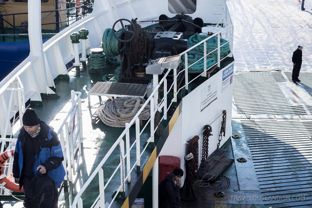 Naviera Austral Ferry - Interior