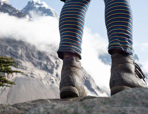 Torres del Paine Trekking Routes - Boots