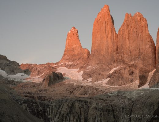 Buff Headwear - Sunrise at Torres del Paine