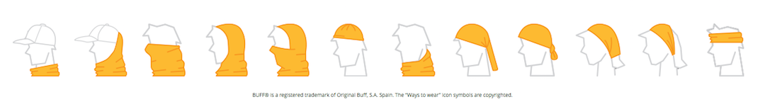 How to Wear the BUFF Headwear