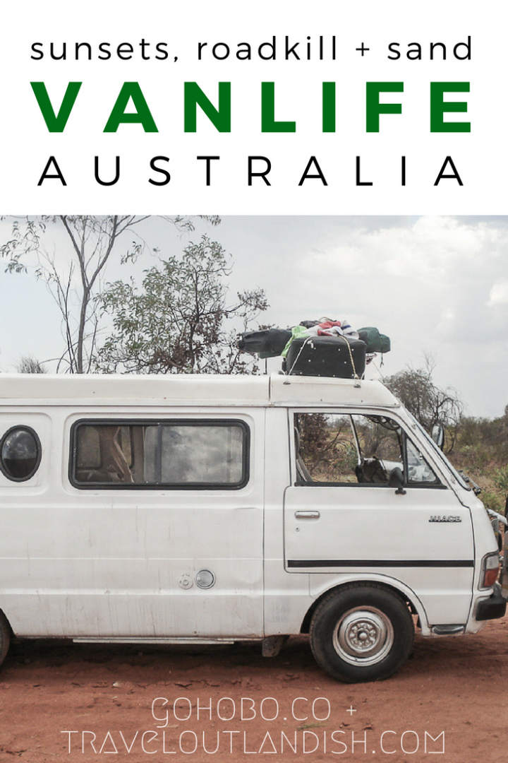 Planning your own Australia road trip? Stories from the road and tips on how to live the vanlife in Australia from GoHobo.co