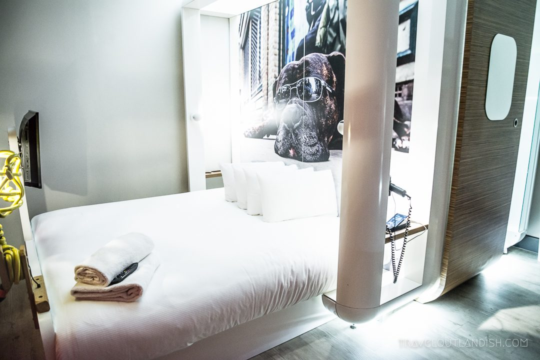 Unusual Hotels in London - Bed in Qbic