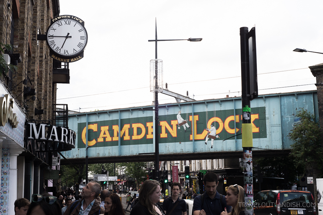 Unique Things to do in London - Camden Market