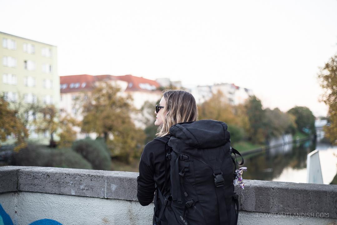 Women's Travel Health - Backpacker in Berlin