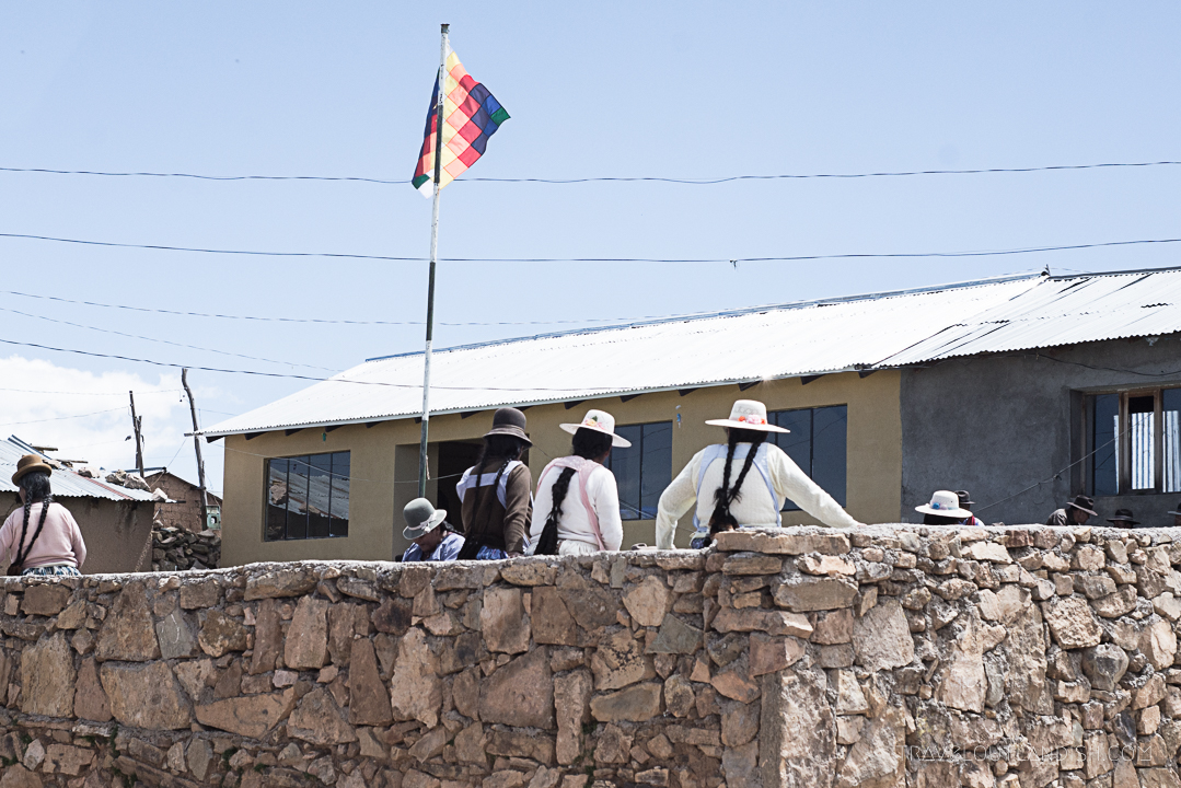 Bolivia - Meeting on Isla del Sol
