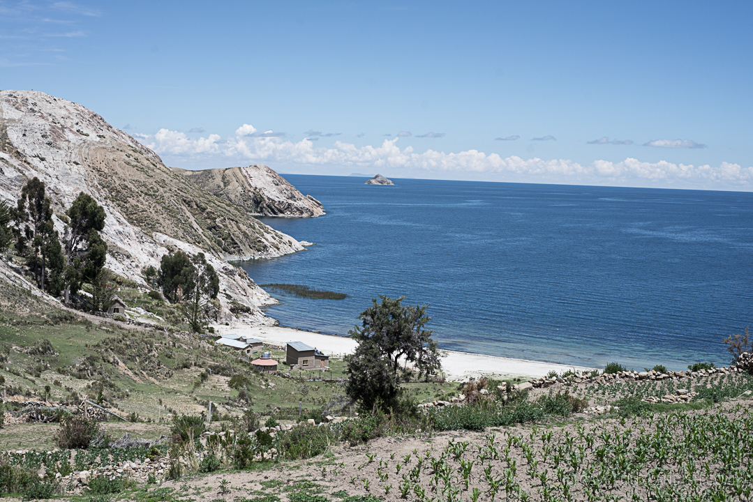 Bolivia - View of Isla del Sol